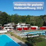 Melbbadsommer 2022: Wir bleiben dran!